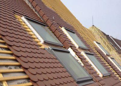 Pose de fenêtres de toit 93